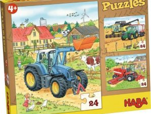 Haba 3 Παζλ Tractor and Co.24τεμ