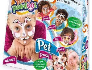 FACE PAINTOOS – PET PACK