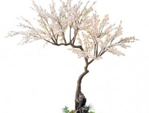 SpaceGreen Τεχνητό Δέντρο Αμυγδαλιά 290 εκ.