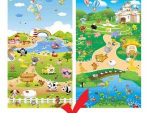 EPE Playmat παιδικο χαλι φαρμα- καστρο 180cmX230cm