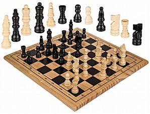 Ξύλινο σκάκι 30 εκ.