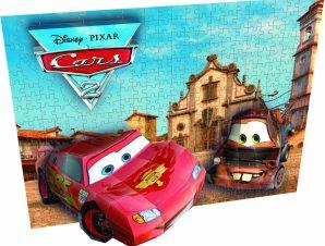 Τρισδιάστατο Πάζλ 250 Κομματιών Mega Blocks 50671 Cars 2 για Κορνίζα